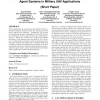 OpCog: an industrial development approach for cognitive agent systems in military UAV applications