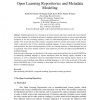 Open Learning Repositories and Metadata Modeling