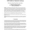 Open Source Implementation of the NIST Healthcare Standards Landscape