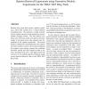 Opinion Retrieval Experiments Using Generative Models: Experiments for the TREC 2007 Blog Track