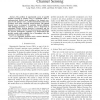 Opportunistic Spectrum Access via Periodic Channel Sensing