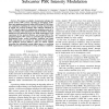 Optical Wireless Communications with Adaptive Subcarrier PSK Intensity Modulation