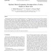 Optimal blurred segments decomposition of noisy shapes in linear time
