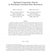 Optimal Cooperative Search in Fractional Cascaded Data Structures