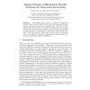 Optimal design of hierarchical wavelet networks for time-series forecasting