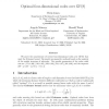 Optimal Four-Dimensional Codes over GF(8)