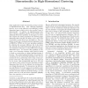 Optimal Grid-Clustering: Towards Breaking the Curse of Dimensionality in High-Dimensional Clustering