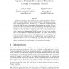 Optimal Multiple Description Transform Coding of Gaussian Vectors