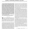 Optimal Node Density for Detection in Energy-Constrained Random Networks