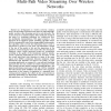 Optimal Packet Scheduling for Multi-Description Multi-Path Video Streaming Over Wireless Networks