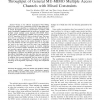 Optimal Power Allocation for Maximum Throughput of General MU-MIMO Multiple Access Channels With Mixed Constraints