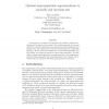 Optimal Semicomputable Approximations to Reachable and Invariant Sets