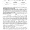 Optimal transmission strategies for channel capture mitigation in Cognitive Radio Networks