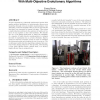 Optimising the flow of experiments to a robot scientist with multi-objective evolutionary algorithms