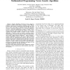 Optimization of the sizing of a solar thermal electricity plant: Mathematical programming versus genetic algorithms