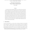 Optimizing Call Center Staffing Using Simulation and Analytic Center Cutting-Plane Methods