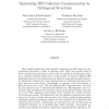 Optimizing MPI collective communication by orthogonal structures
