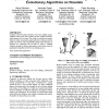 Optimizing of NC tool paths for five-axis milling using evolutionary algorithms on wavelets