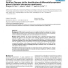 OpWise: Operons aid the identification of differentially expressed genes in bacterial microarray experiments