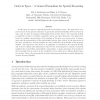 Order in Space: A General Formalism for Spatial Reasoning