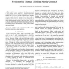 Output Regulation of Perturbed Nonlinear Systems by Nested Sliding Mode Control