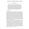 Overlay Networks with Linear Capacity Constraints