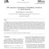 P2P reputation management: Probabilistic estimation vs. social networks