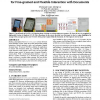 PACER: toward a cameraphone-based paper interface for fine-grained and flexible interaction with documents