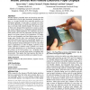 PaperPhone: understanding the use of bend gestures in mobile devices with flexible electronic paper displays