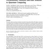 Paraconsistent Machines and their Relation to Quantum Computing
