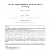 Parallel Assignments in Software Model Checking