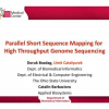 Parallel short sequence mapping for high throughput genome sequencing