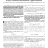 Parameter Estimation in TV Image Restoration Using Variational Distribution Approximation