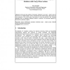 Parameter Estimation of Systems Described by the Relation with Noisy Observations