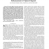 Particle methods for Bayesian modeling and enhancement of speech signals