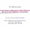Particle Swarm Optimisation Aided Minimum Bit Error Rate Multiuser Transmission
