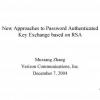 Password Authenticated Key Exchange Using Quadratic Residues