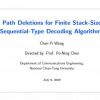 Path deletions for finite stack-size sequential-type decoding algorithms