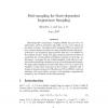 Path-sampling for state-dependent importance sampling