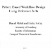Pattern Based Workflow Design Using Reference Nets