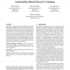 Patterns and statistical analysis for understanding reduced resource computing