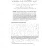 PAtterns for Next-generation DAtabase systems: preliminary results of the PANDA project