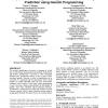 Peptide detectability following ESI mass spectrometry: prediction using genetic programming