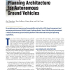 Perception and Planning Architecture for Autonomous Ground Vehicles