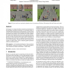 Perceptual evaluation of position and orientation context rules for pedestrian formations