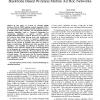 Performance analysis and enhancement for backbone based wireless mobile ad hoc networks