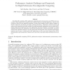 Performance analysis challenges and framework for high-performance reconfigurable computing