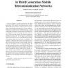 Performance Analysis for Data Service in Third Generation Mobile Telecommunication Networks
