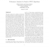 Performance Analysis of a Family of WHT Algorithms