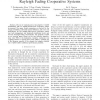 Performance Analysis of Adaptive M-QAM for Rayleigh Fading Cooperative Systems